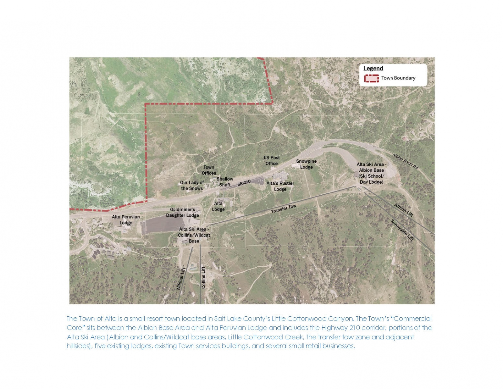 Town of Alta Commercial Core Plan