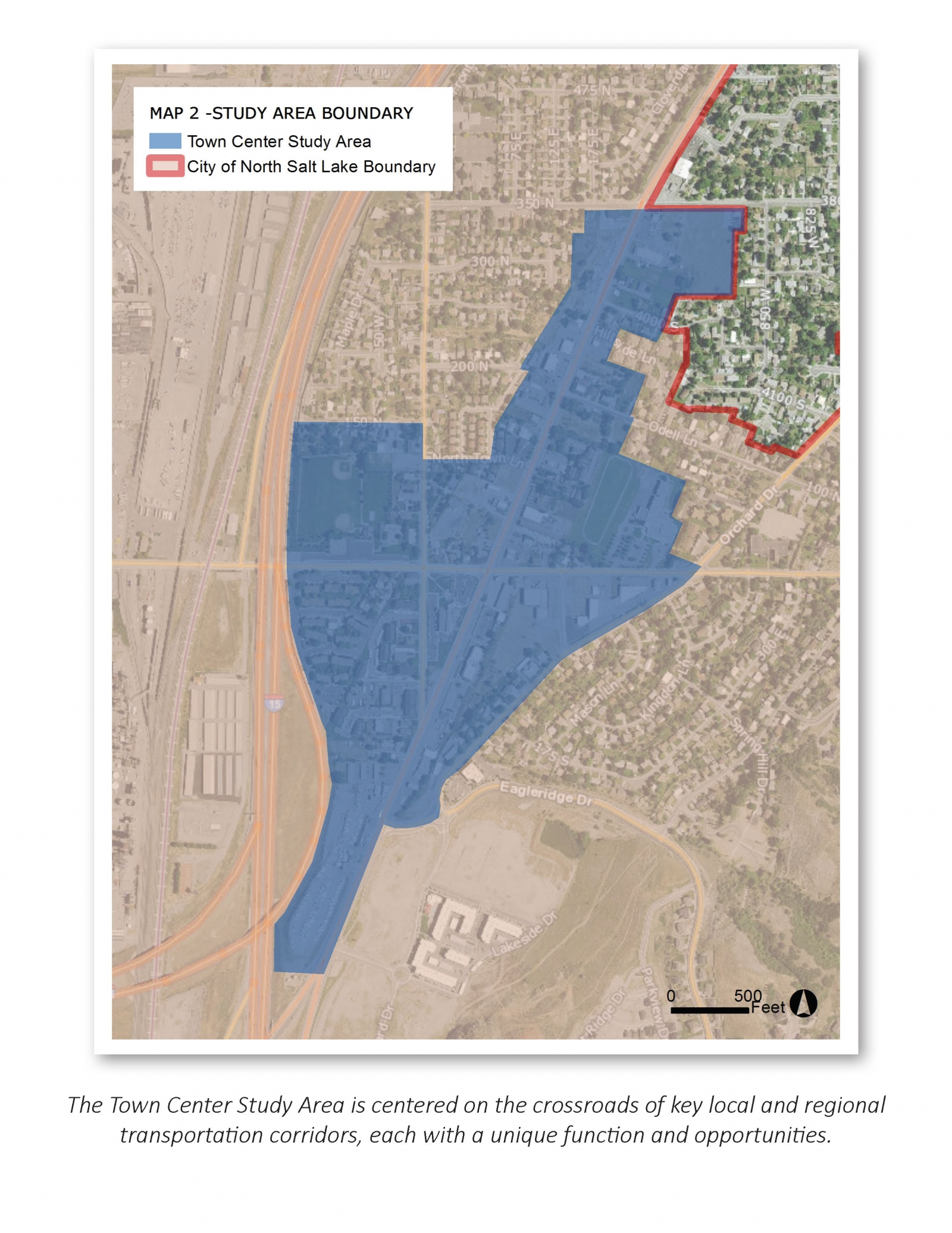 City of North Salt Lake Town Center Master Plan