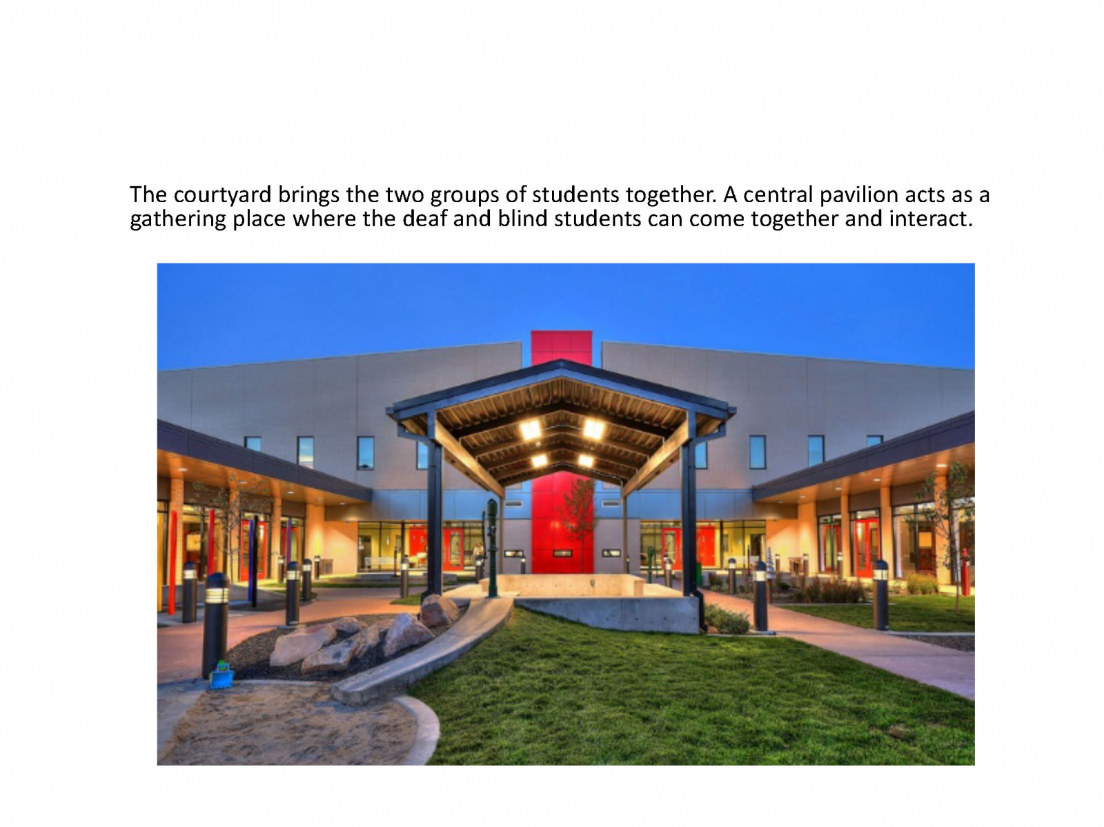 C. Mark Openshaw Education Center Utah School for the Deaf and the Blind (USDB) Salt Lake Campus