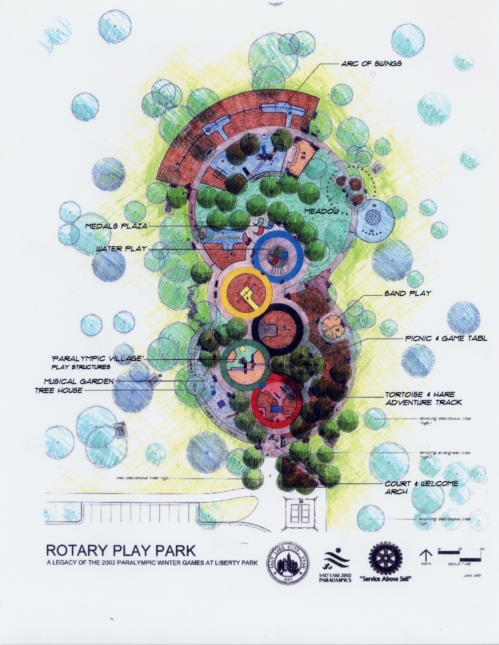 Rotary/Paralympic Play Park at Liberty Park
