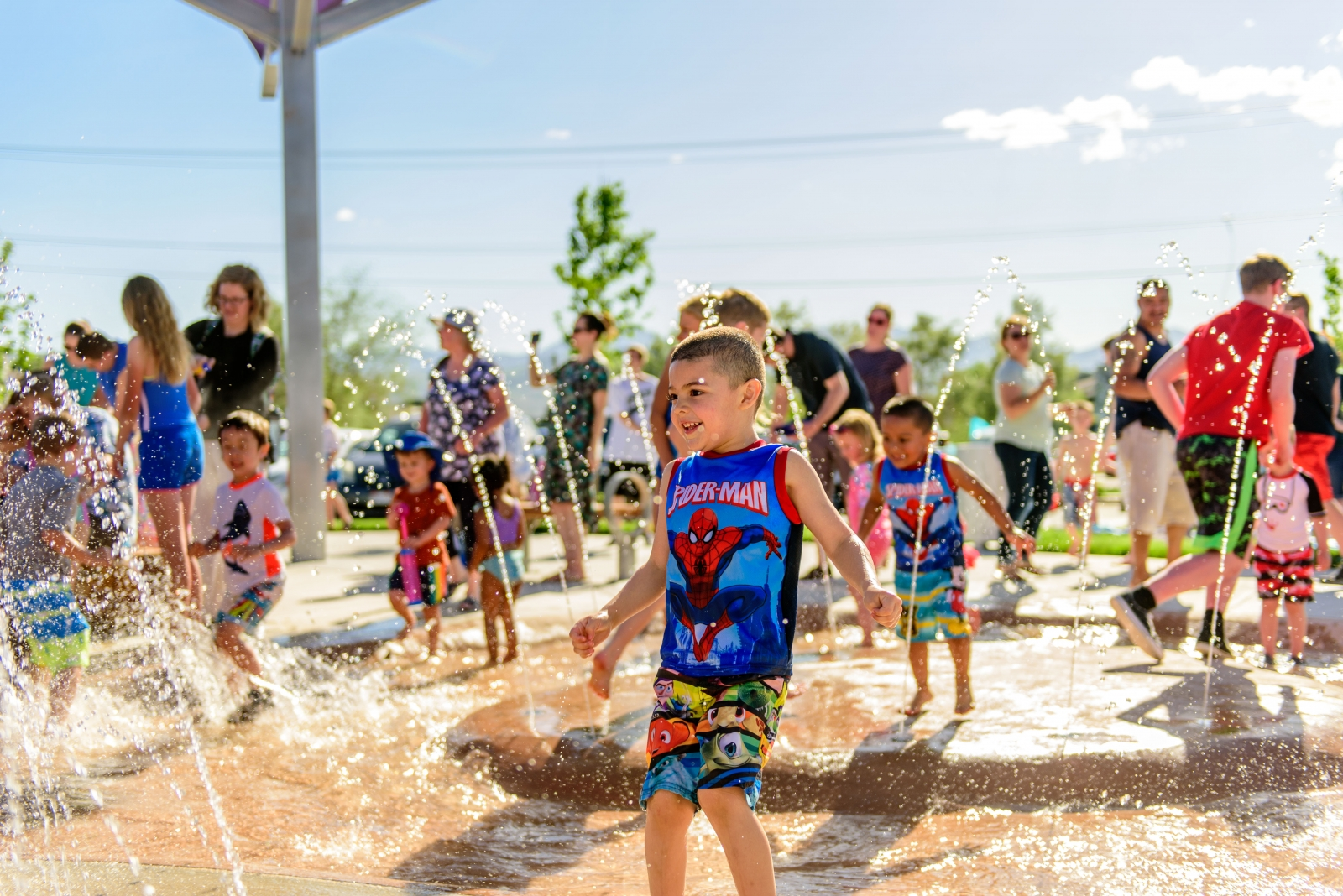 Smith Fields Park Splash Pad