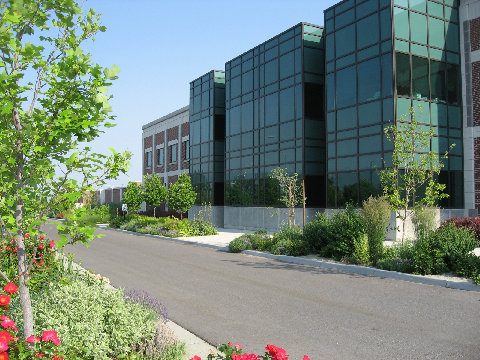 Grand Avenue at the USU Innovation Campus – North Logan, Utah